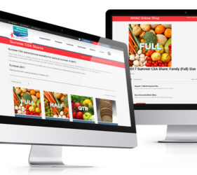 MVAC Food Hub Website