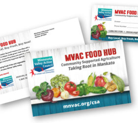 MVAC Food Hub Print Pieces