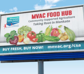 MVAC Food Hub Billboard