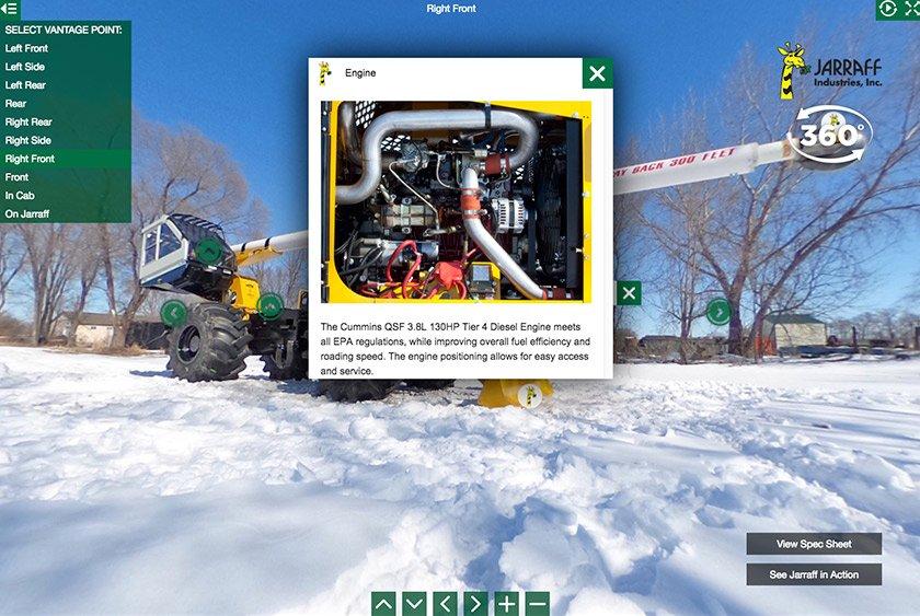 Jarraff 360 Interactive Photo