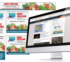 MVAC Food Hub Google Display Network Mockup