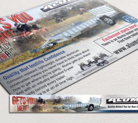 Aluma ATV Print Web Ad