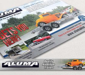 Aluma Car Hauler Print Web Ad