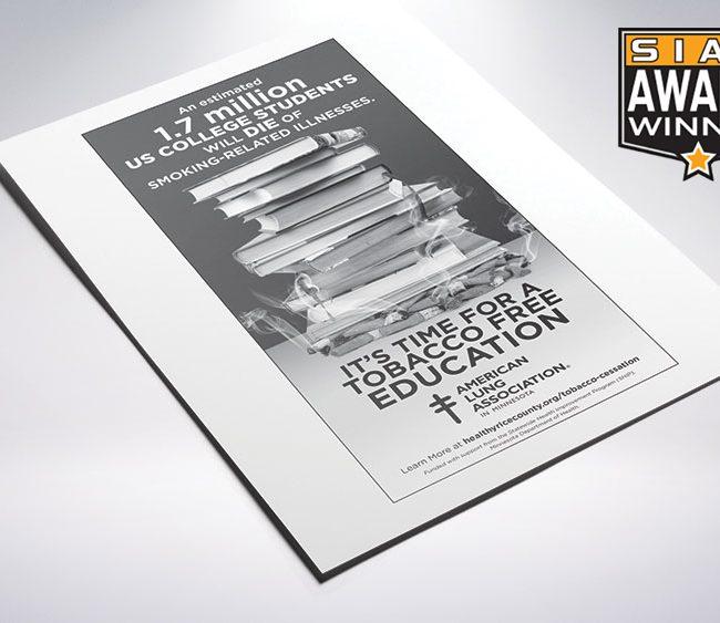 American Lung Ad Campaign Siaa Win