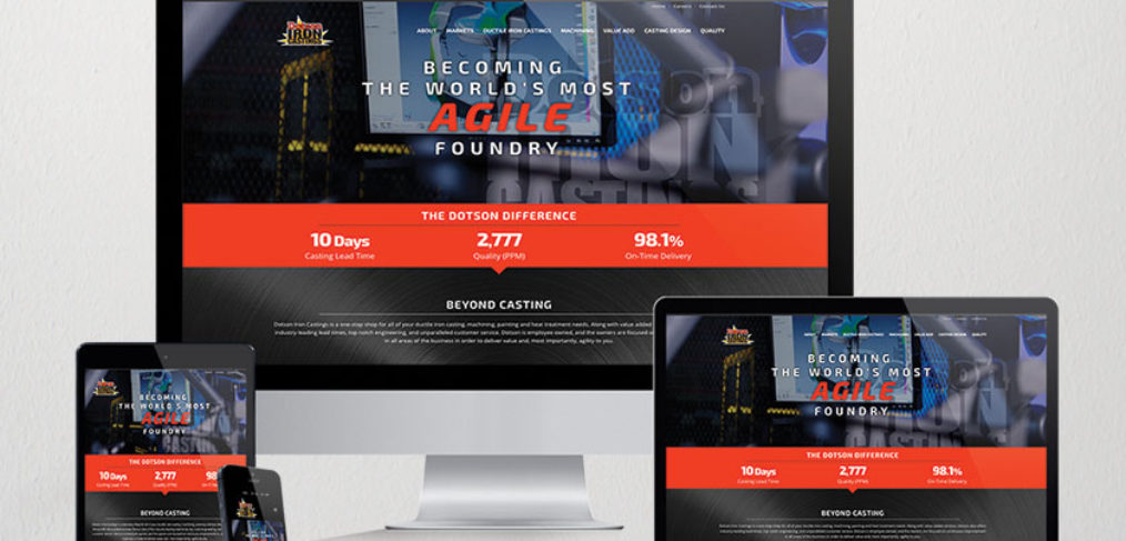 Dotson Iron Castings Website