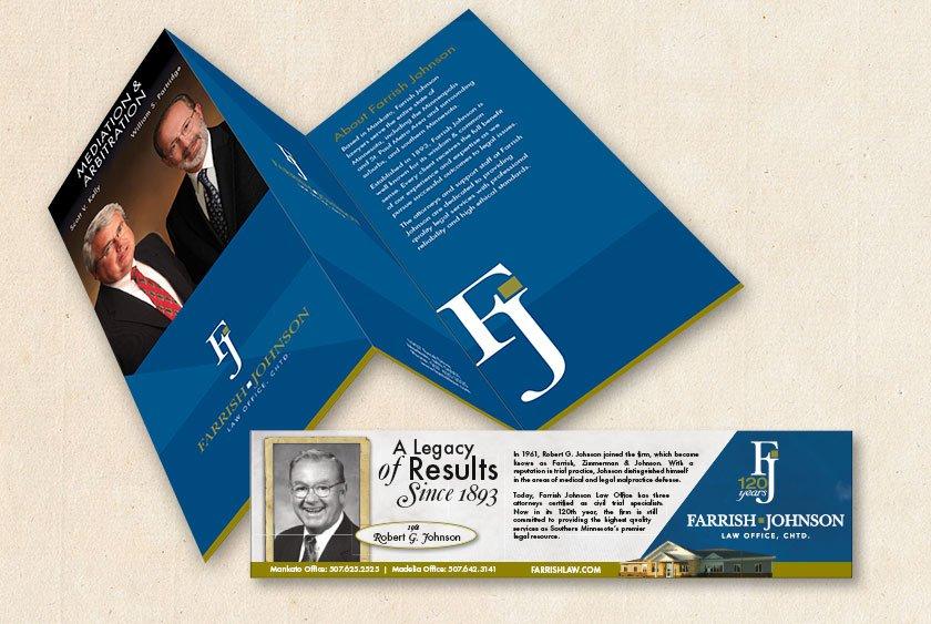 Farrish Johnson Brochure Ads