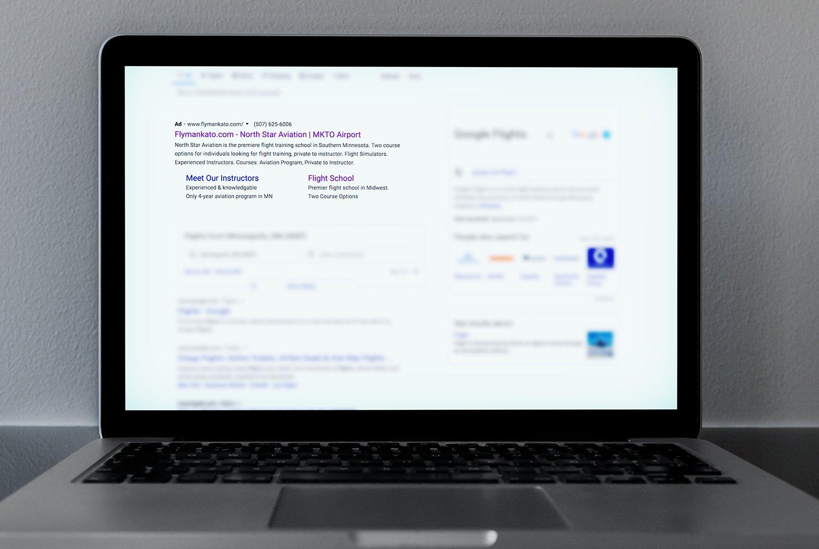 Fly Mankato Google Ads 6
