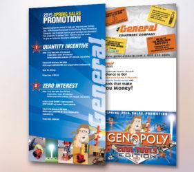 General Equipment Genopoly Board Spread