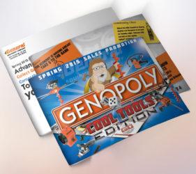 General Equipment Genopoly Mailer