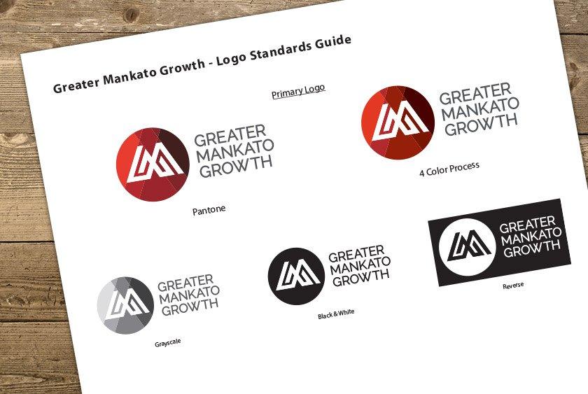 Greater Mankato Growth Logo