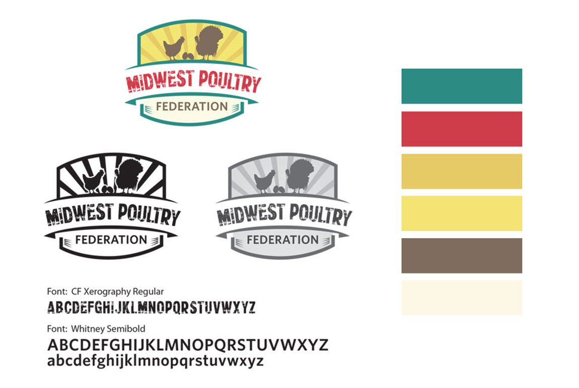 Identity Midwest Poultry Federation Logo 2015 03