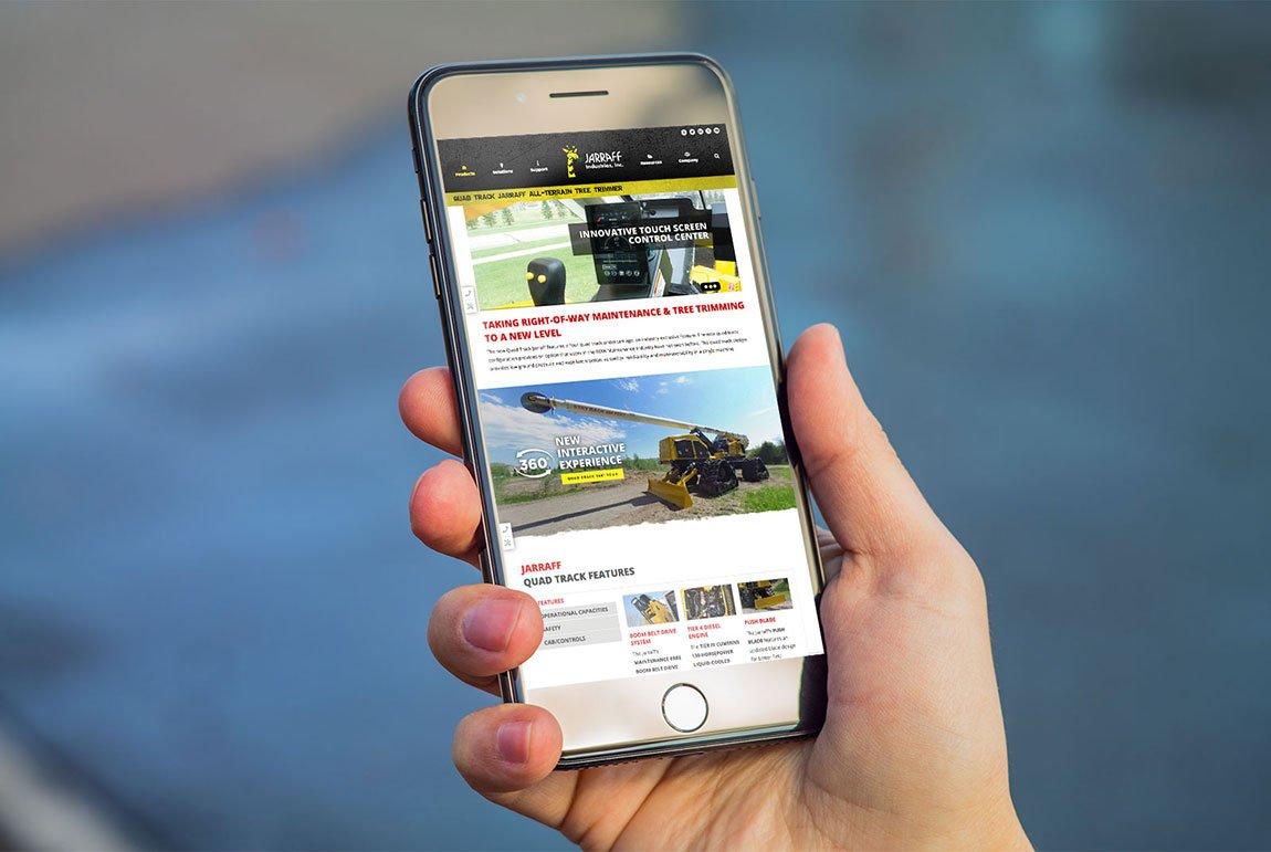 Jarraff Industries Mobile Web