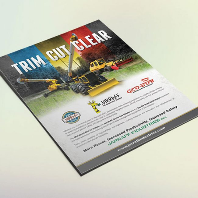 Jarraff Industries Trim Cut Clear Ad