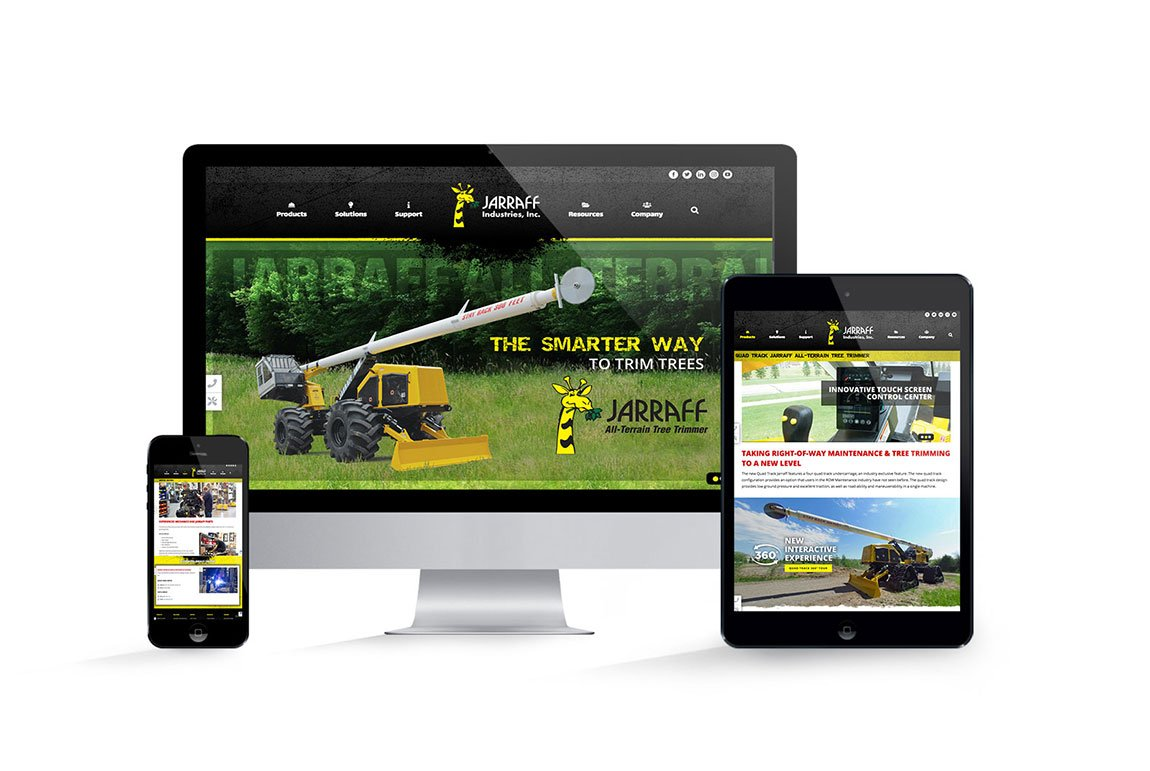 Jarraff Industries Website