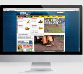 J.P. Carlton Website Drop Down Menu