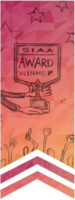 SIAA Award Winner Graphic