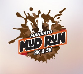 Mankato Mud Run Splat Logo