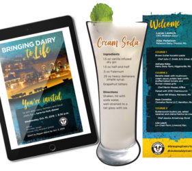 Midwest Dairy Association - Bringing Dairy to Life Event Collateral