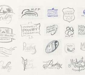 Midwest Poultry Federation Sketches