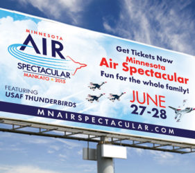 MN Air Show Billboard
