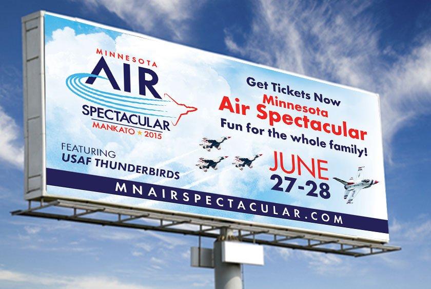 MN Air Show Billboard