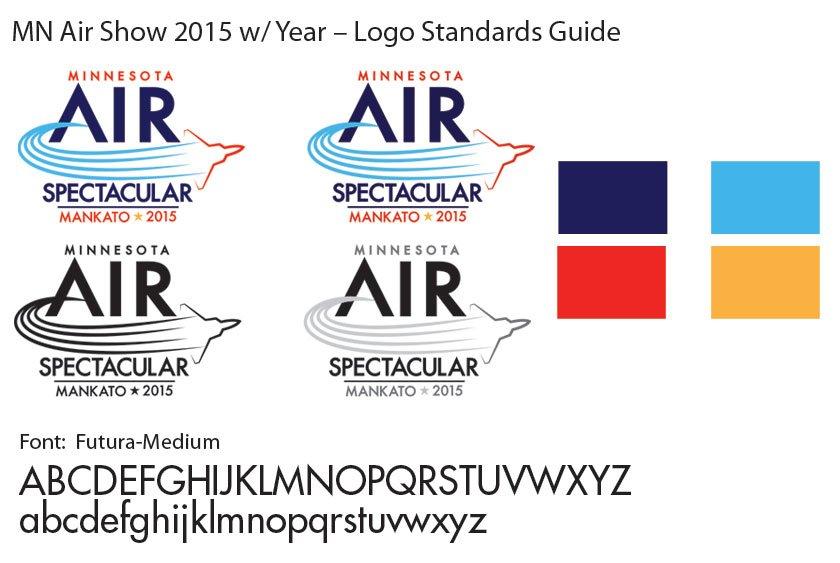 MN Air Show Logo Standards