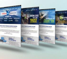 TT Technologies Creative Homepage Design