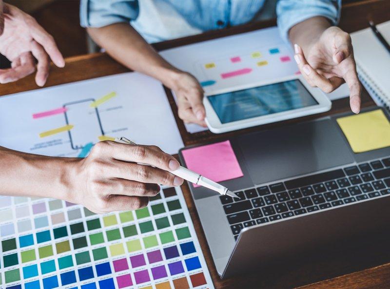 Webgraphic Designer Planning